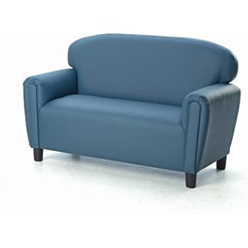 Lovely Brand New World Preschool Enviro Child Upholstery Sofa   Blue