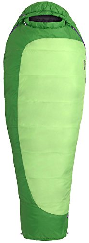 Marmot Trestles 30 Sleeping Bag for Women 2017, Regular, 23600 (Greenery/Deep Teal, Left Hand)