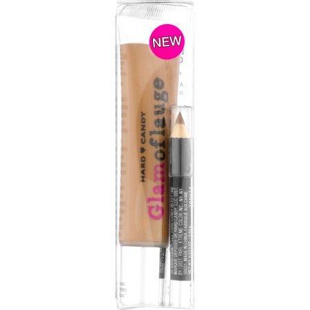 Hard Candy Glamoflauge Concealer with Concealer Pencil, 1225 Clove