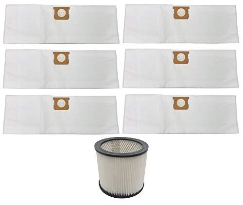 Cartridge Filter & Bags for Shop Vac 5 6 8 Gallon 90304 9066