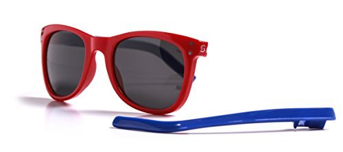 Slydz Kids Wayfarer Polarized Sunglasses - Try Virtually Sunglasses