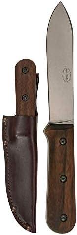 KA-BAR Becker Kephart Fixed 5.1 in Blade Walnut Handle, Brown BK62 Overall Length 9.688