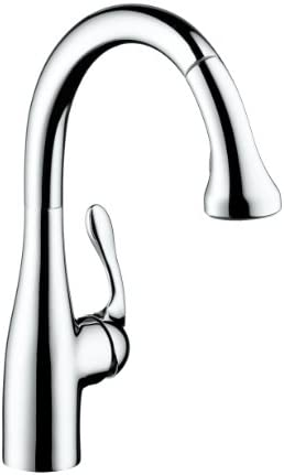 Hansgrohe 04066001 1.5 GPM Allegro E Gourmet High Arc Kitchen Faucet, Chrome