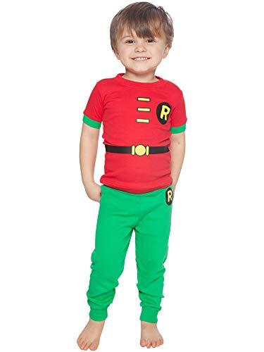 Superhero Baby Pajamas - DC Comics Infant 'Robin Superhero' Cotton