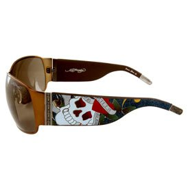 Ed Hardy EHS 012 Love Kills Slowly Sunglasses, (Hardy Sunglasses Model)