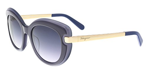 Salvatore Ferragamo Women's SF813S Dark Blue/Blue - For Women Sunglasses Ferragamo