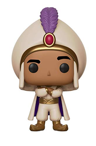 Funko Pop! Disney: Aladdin - Prince Ali, Standard Toy, Multicolor]()