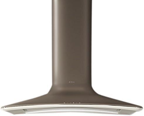 Elica SWEET UMBER/F/85 - Campana (Recirculación, 500 m³/h, 500 m³/h, Montado en pared, LED, Marrón): Amazon.es: Grandes electrodomésticos