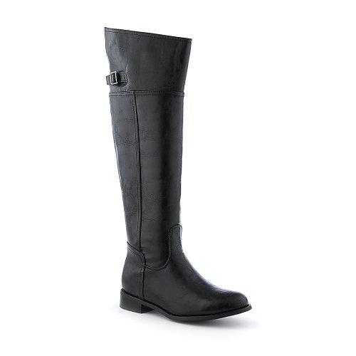 Breckelles Womens Rider-82 Boot - Black Size 11 bAV8aYaO3