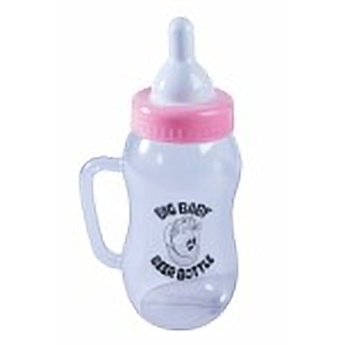 Forum Novelties 73690 Baby Beer Bottle, Pink, As