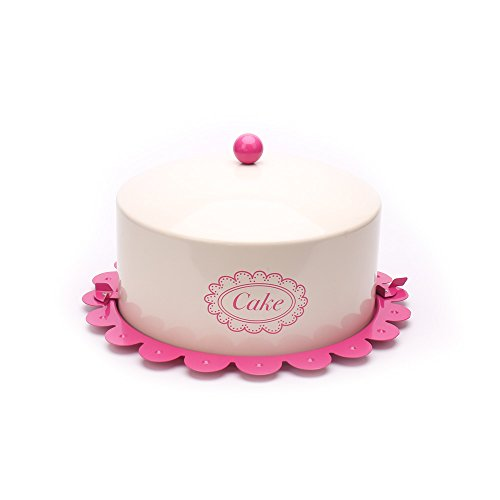 Vintage Cake Carrier (Hot sale X503L Metal Birthday Cake Tin/Carrier/Container/Home Kitchen Gift With Cover And Lock Catch)