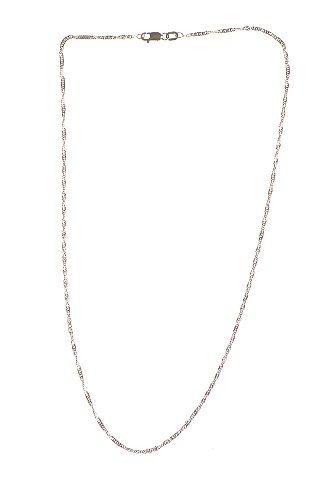 Collier - NKG-K10623 - Femme - Or Blanc 375/1000 (9 Cts) 1.9 Gr