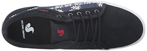 Leaf Aversa Women's WOS Tea Skateboarding Navy Red Shoe DVS O8q5xd5