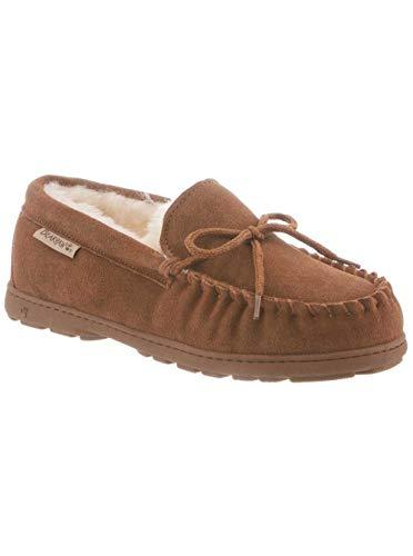 Bearpaw Kids Slippers (BEARPAW Women's Mindy Moccasin Slipper (7.5 B(M) US, Hickory)