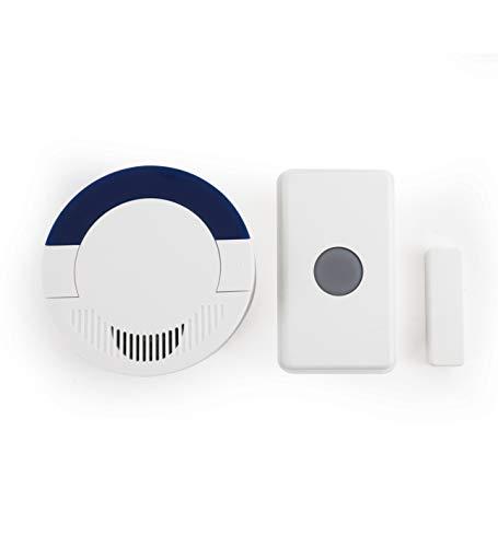 Dakota Alert UTDCR-4000 Long-Range Wireless Doorbell and Home Security Driveway Alarm System – DCR-4000 Receiver and UT-4000 Universal Transmitter
