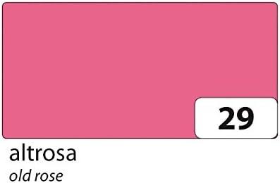 folia 6122/10 29 Tonkarton 220g/m², 50x70cm, Altrosa (10 Bogen)