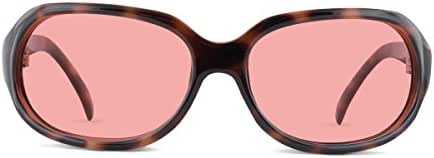 TheraSpecs Stella Migraine Glasses for Light Sensitivity, Photophobia and Fluorescent Lights | Women | Indoor Lenses