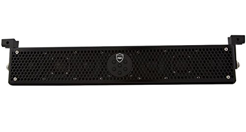 Wet Sounds Stealth-6-Ultra-HD All in One Amplified Marine/ATV/Golf Car HD Soundbar (Black) by Respirapro