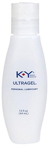 K-Y Sensual Silk UltraGel Personal Water Based Lubricant - 1.5 oz (Liquid Silk Sensual Lubricant)