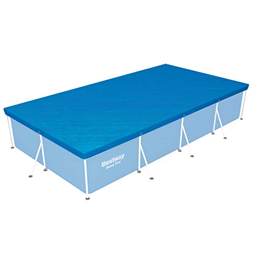 Bestway 58107 Frame Pool Cover, 157 by 83-Inch