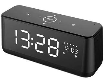 Altavoz Bluetooth, MIFA A30 Altavoz Portátil 30W con LED Pantalla y Reloj, Sonido Digital