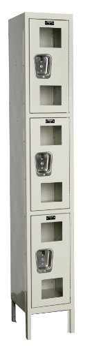 Hallowell USV1258-3PT Safety-View Locker, 12