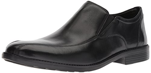 Bostonian Men's Birkett Step Loafer, Black Leather, 105 M - Mens Shoes Bostonian Dress