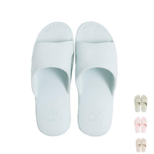 SHAREMILY pour SHAREMILY Bleu Femme Chaussons Chaussons 7w5xF00