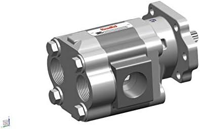 Buzile Gear Pump Motor BGM51A846BTYR22-25 Replacement P51A646BTYR22-25 PL25-2BPBB S-17646 H5036221 TKPEL22 ML51B-25ANX WAL51B-25ANX P5100A735OFXQ22-14 P5151A224AAXQ22-54 M5151A224AAXQ22-54 3139610659
