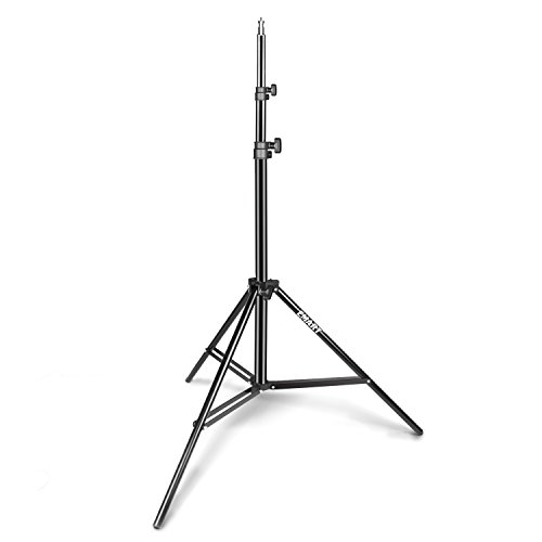 Emart Light Stand, 6.2ft Photography Stand for Photo Video Studio, Background, HTC Vive, Softbox, Reflector, etc.