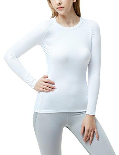 Boys Golf Shirt Top (TM-XUD34-THW_Small Tesla Women's WinterGear Compression Baselayer Long Shirt XUD34)