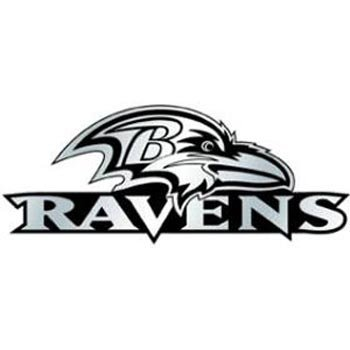 NFL Baltimore Ravens Chrome Automobile - Mall Stores Baltimore