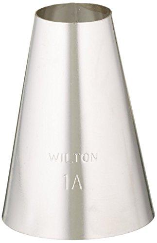 Wilton Round Tip - Wilton 402-1001 No. 1A Round Decorating Tip, Multicolor