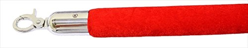 - Red Velour Decorative Rope in Mirror Finished with 96