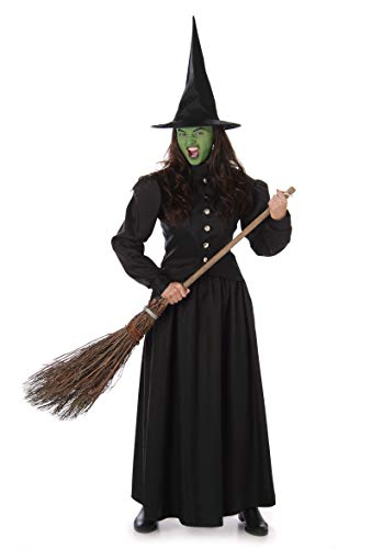 Women's Wicked Witch Costume for Halloween Costume Party Accessory, Medium ()