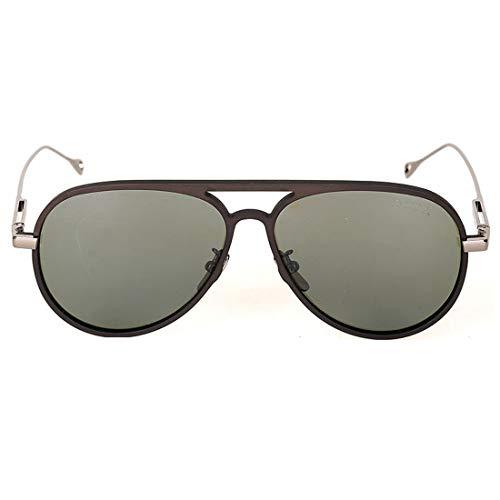 Soleil de Hommes Frame Dropping Black Fishing UV Hommes Frame Lunettes Lens Gun Color Lens pour Metal 400 Frame Silver UV Gray Sunglasses Sakuldes 0YZqq