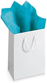 Blanc cass/é /50/cm x 75/cm Sheets Papier de soie haute qualit/é luxe f/ête sans acide Feuilles Cadeau/ 50