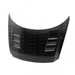 Seibon TS-Style Carbon Fiber Hood for 2011-2012 Honda CR-Z ()