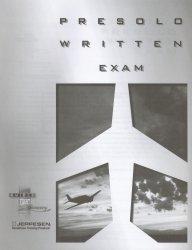 Presolo Written Exam (JS336252)