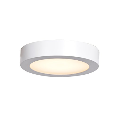 Ulko Exterior LED Outdoor Flush Mount - 7''D - White - Acrylic Lens Diffuser by Access Lighting - HI