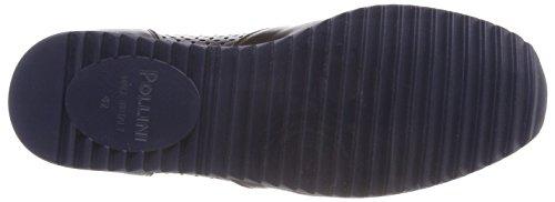 Pollini M.Sneakers, Scarpe da Ginnastica Basse Uomo Marrone (Tmoro 301)
