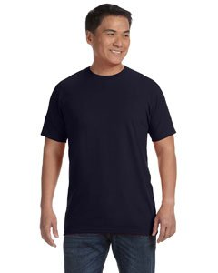 Mens 2010 Organic T-shirt - Anvil Adult Anvilsustainable Tee (Navy) (3X)