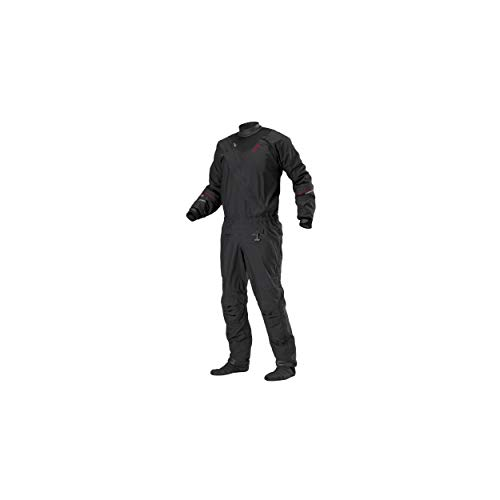 Stohlquist Ez Drysuit (Black, XX-Large)