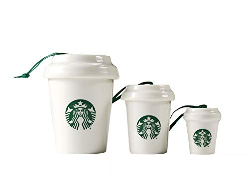 Nesting Cups Ornaments Starbucks Limited Edition 2016