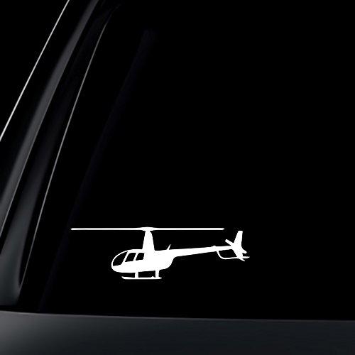 Robinson R 44 Helicopter R44 White Decal Sticker Die-cut White Decal Sticker