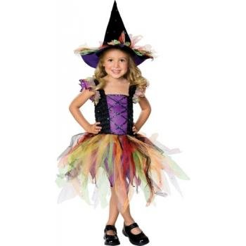 U Of M Halloween Costumes (Rubie's Costume Co. Baby Girls' Storytime Wishes Glitter Witch Costume,As Shown,Infant(US Size 1-2 6/12months))