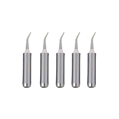 FEITA Replacement Soldering Iron Tip 900M-T-SI Lead Free Conical for Hakko Solder Station 936 852D+ 907 (5Pcs)