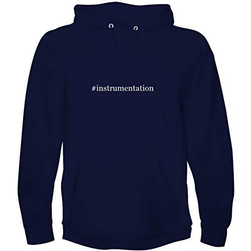 The Town Butler #Instrumentation - Men's Hoodie Sweatshirt, Navy, Small