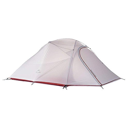 Naturehike Cloud-Up Ultra-Light 3-Person Backpacking Tent (Gray)