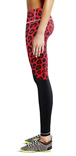 bee2cfd31b4d28 zipravs Women Tights Running Fitness Workout Garter Leggings Yoga Pants